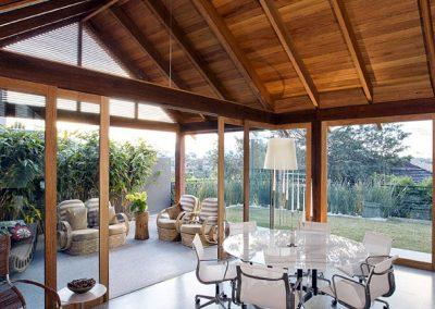 Peleton Lounge Area Windows and Doors